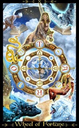 tarot wheel of fortune unique