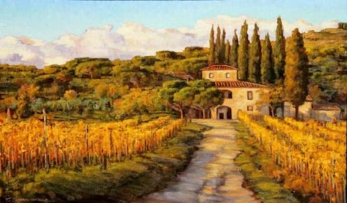 #61 La Vita e Bella Tuscany - Caroline Zimmermann
