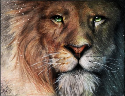#63 aslan-chronicles of narnia by devoratus