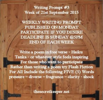 weekly writing prompt #3