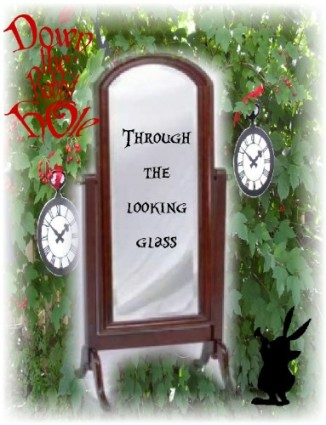 alice wonderland-through the looking glass-down the hole