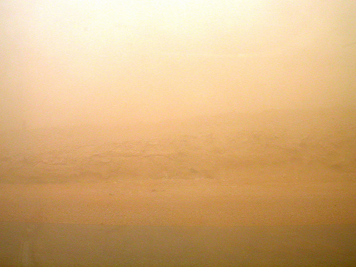 #70 sandstorm gold blown away in dust storm