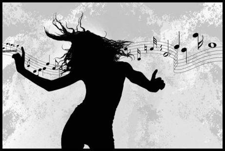 Music_dancing make monochromatic