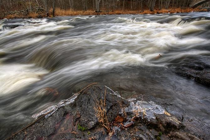 river waterfalls Potts Falls Ontario Waterfalls