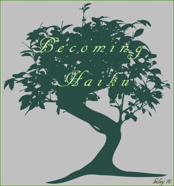 becoming haiku poster