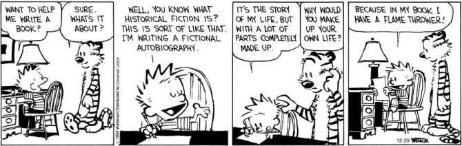 31 fictional autobiography