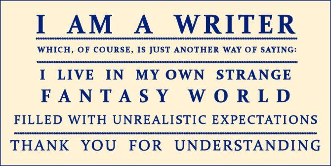 I AM A WRITER by kiley