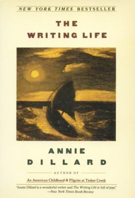 the writing life by annie dillard - book cover
