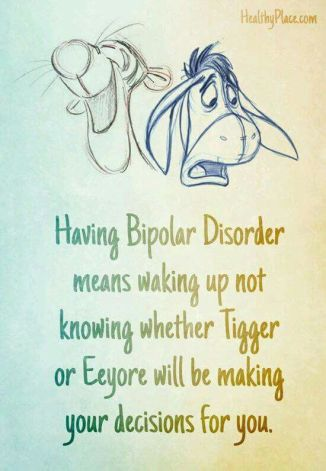 tigger or an eeyore kind of day