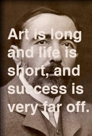 joseph conrad art is long