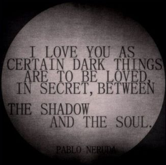 between the shadow and the soul - anonymous