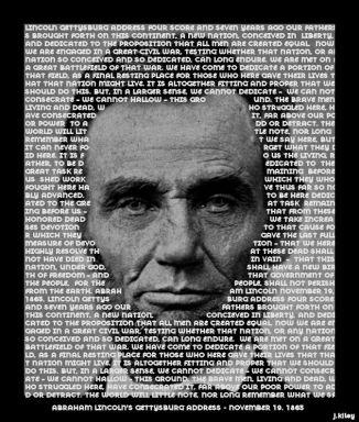 Abraham Lincoln's Gettysburg Address November 19, 1863